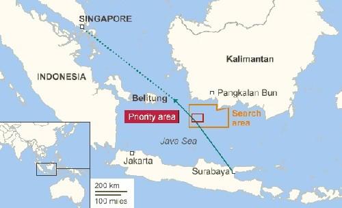 Tìm thấy 4 mảnh vỡ máy bay AirAsia - ảnh 1