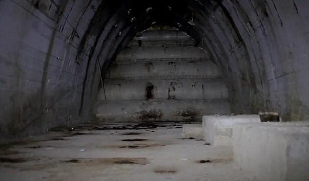 Khám phá mê cung đường hầm nghi sản xuất vũ khí hạt nhân - ảnh 2