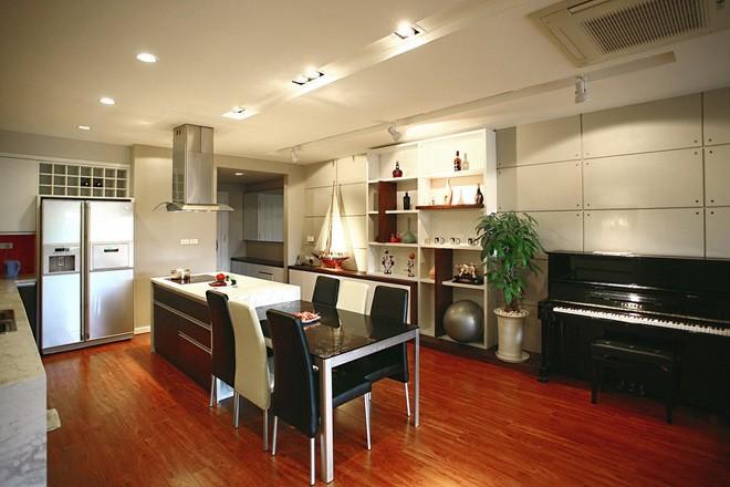 Mãn nhãn thiết kế căn hộ 130 m2 cho gia đình trẻ - ảnh 4