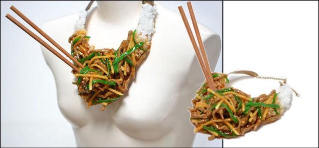 Trang sức hình món ăn độc đáo - ảnh 9