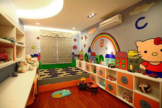 Mãn nhãn thiết kế căn hộ 130 m2 cho gia đình trẻ - ảnh 9
