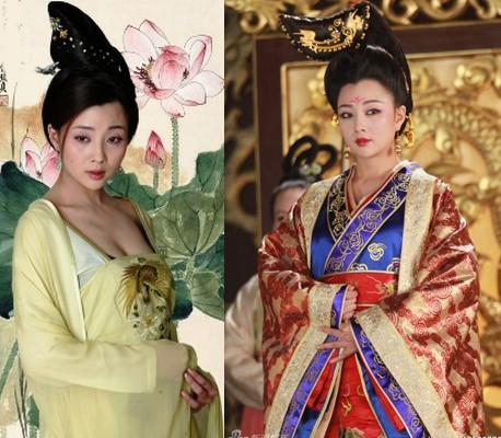 Trang phục của Võ Tắc Thiên trong các phim nổi tiếng - ảnh 10