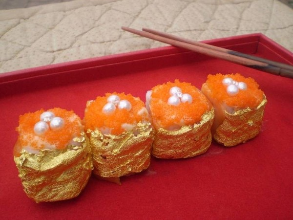 10 món ăn dát vàng thật dành cho giới 'siêu giàu' - ảnh 6