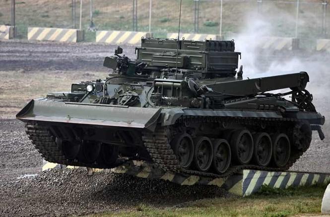 Tận thấy những màn trình diễn ngoạn mục của xe tăng Nga - ảnh 9