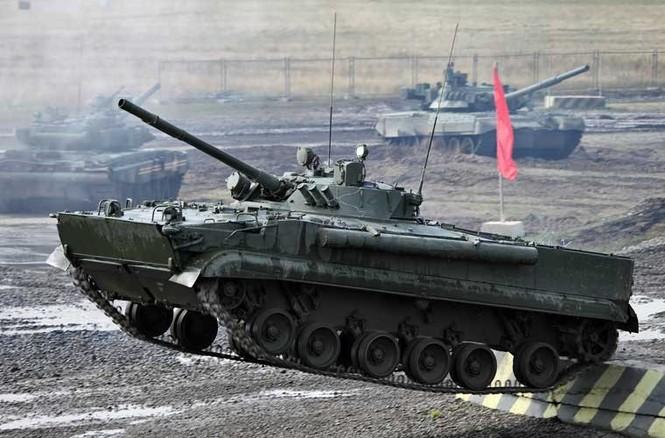 Tận thấy những màn trình diễn ngoạn mục của xe tăng Nga - ảnh 10