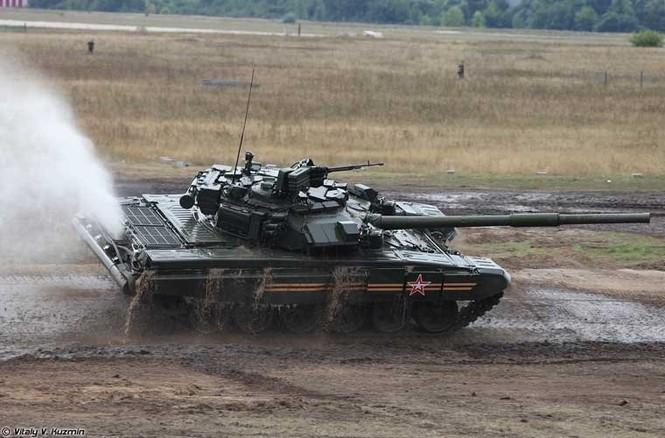 Tận thấy những màn trình diễn ngoạn mục của xe tăng Nga - ảnh 6