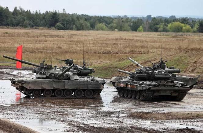 Tận thấy những màn trình diễn ngoạn mục của xe tăng Nga - ảnh 7