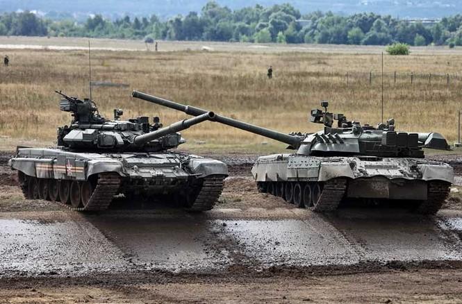 Tận thấy những màn trình diễn ngoạn mục của xe tăng Nga - ảnh 8