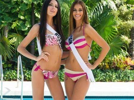 Người đẹp Hoàn vũ khoe đường cong 'gây mê' với bikini - ảnh 3