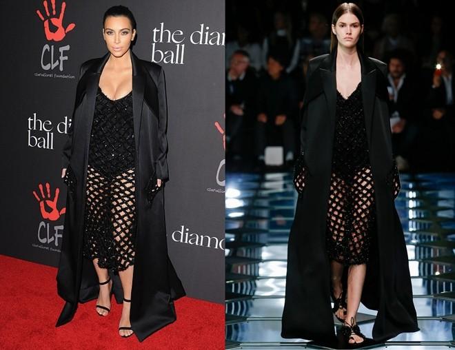 Kim Kardashian chuộng đồ xẻ ngực - ảnh 1
