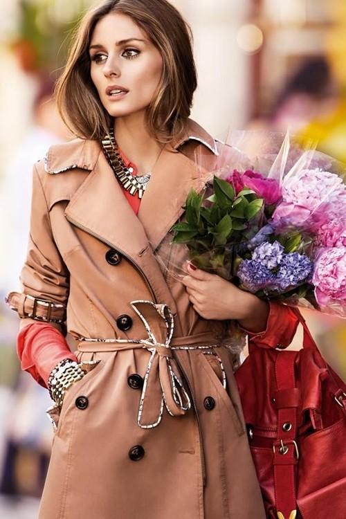 Mặc áo măng tô đơn giản mà đẹp như fashionista - ảnh 1