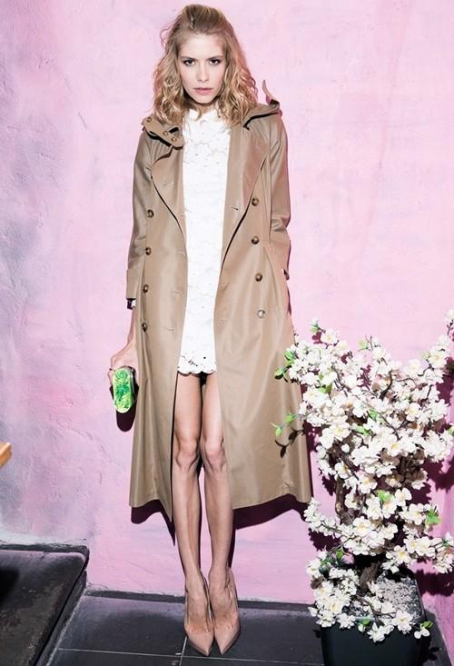 Mặc áo măng tô đơn giản mà đẹp như fashionista - ảnh 2