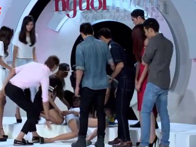 Những tai nạn hy hữu trên truyền hình thực tế Việt - ảnh 7