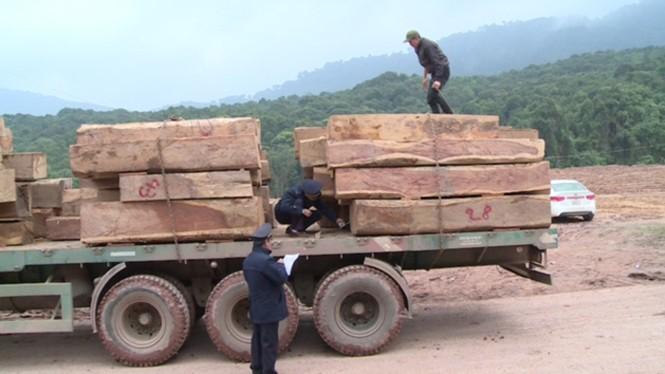 """Hàng trăm xe tải """"nằm chết"""" ở cửa khẩu vì công văn - ảnh 3"""