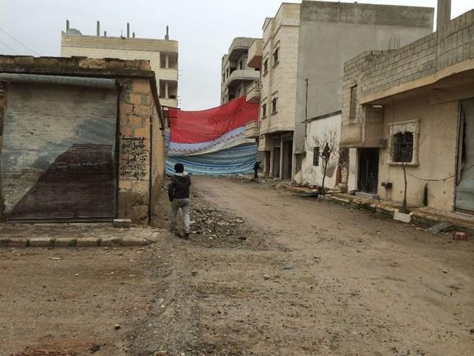 Thảm thương thị trấn Syria trong vòng vây phiến quân IS - ảnh 2