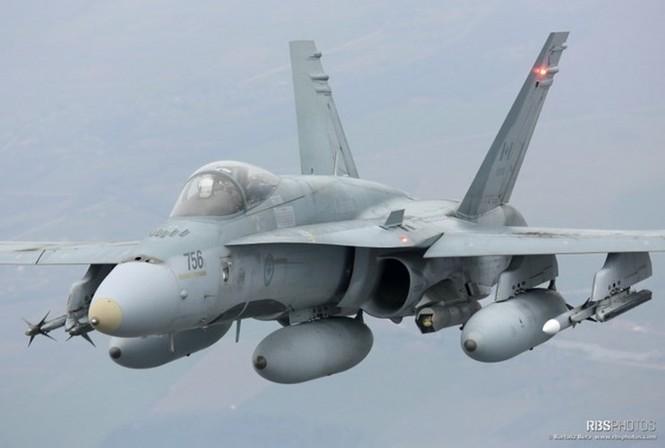 Nhìn gần máy bay chiến đấu NATO tuần tiễu khu vực Baltic - ảnh 3