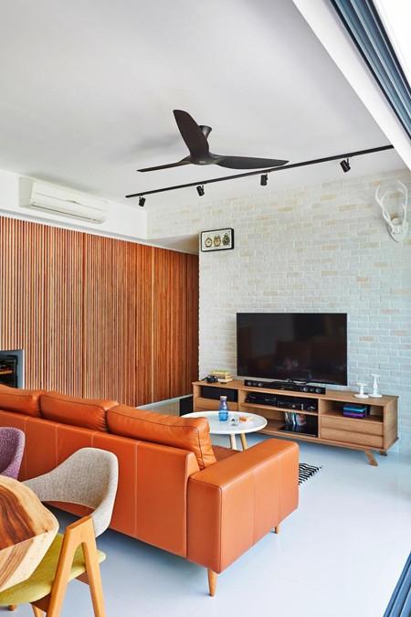 Căn hộ thiết kế tuyệt đẹp với hai tông màu đơn giản - ảnh 1