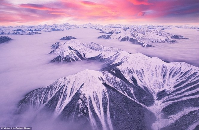 Dòng sông mây kỳ ảo ở 'vương quốc ma thuật' - ảnh 1