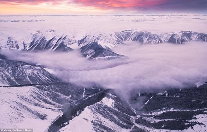 Dòng sông mây kỳ ảo ở 'vương quốc ma thuật' - ảnh 2