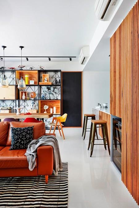 Căn hộ thiết kế tuyệt đẹp với hai tông màu đơn giản - ảnh 2