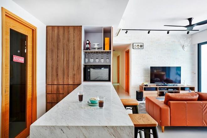 Căn hộ thiết kế tuyệt đẹp với hai tông màu đơn giản - ảnh 4