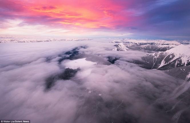 Dòng sông mây kỳ ảo ở 'vương quốc ma thuật' - ảnh 6