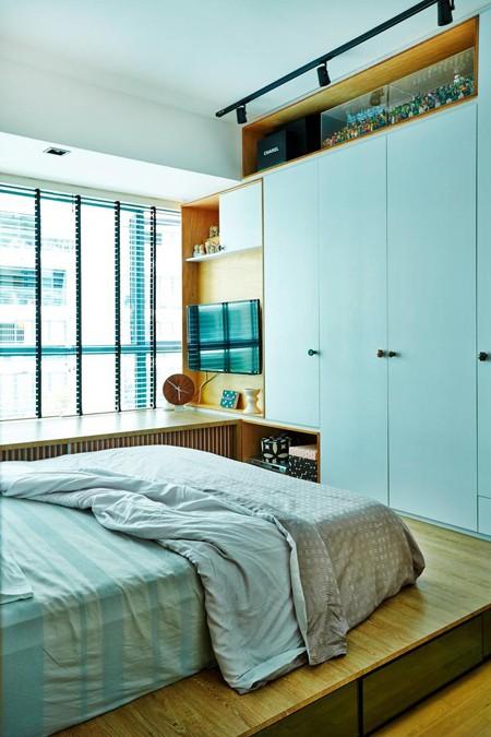 Căn hộ thiết kế tuyệt đẹp với hai tông màu đơn giản - ảnh 6