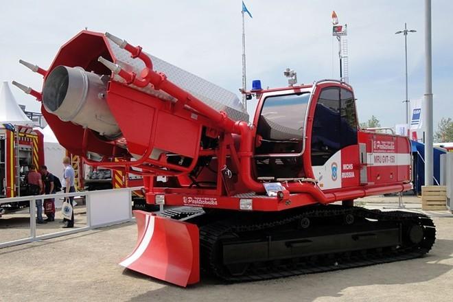 Những mẫu xe cứu hỏa kỳ dị nhất hành tinh - ảnh 5