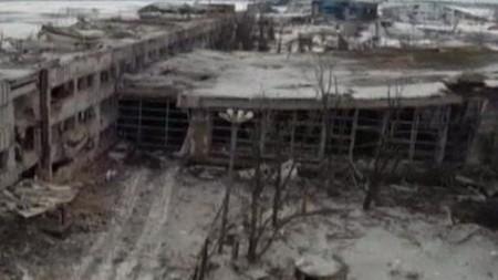 Sân bay Donetsk bị đánh sập, hơn 200 người thiệt mạng - ảnh 1