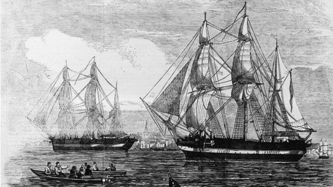 Cận cảnh xác tàu thám hiểm Bắc Cực mất tích năm 1845 - ảnh 1