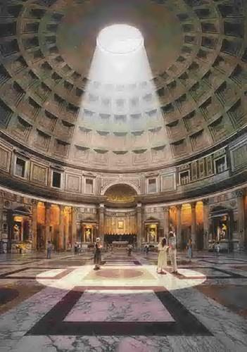 Ngôi đền 2.000 tuổi của đế chế La Mã có gì đặc biệt? - ảnh 5