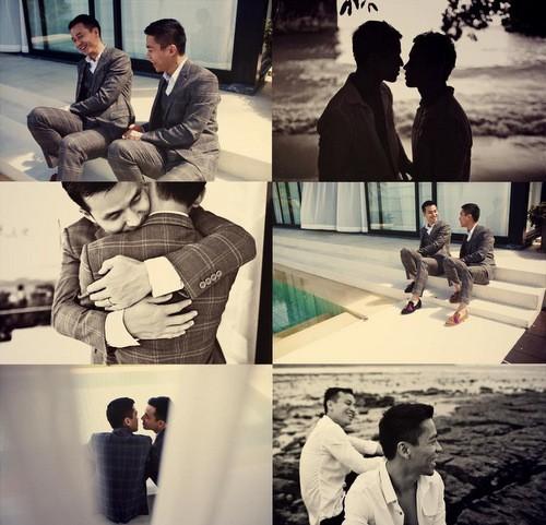 Nhà thiết kế Việt cưới người tình đồng giới - ảnh 1