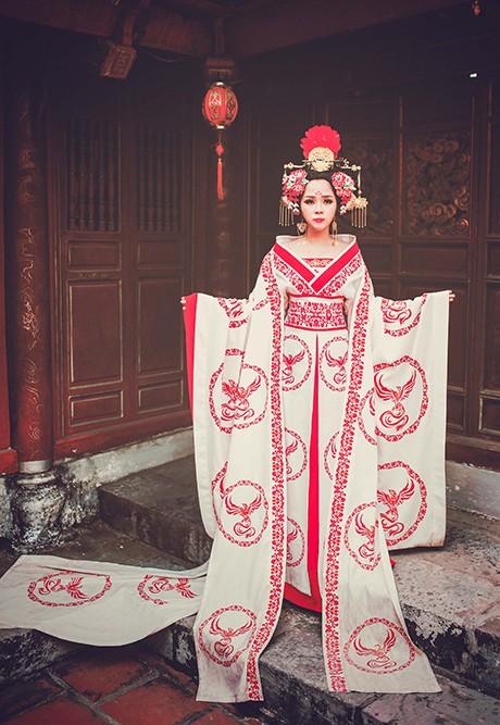 Bộ cosplay phim Võ Tắc Thiên cực chất của thiếu nữ Việt - ảnh 10