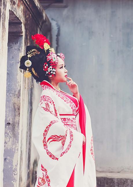 Bộ cosplay phim Võ Tắc Thiên cực chất của thiếu nữ Việt - ảnh 11