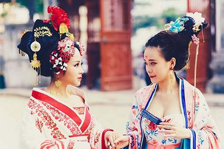 Bộ cosplay phim Võ Tắc Thiên cực chất của thiếu nữ Việt - ảnh 12