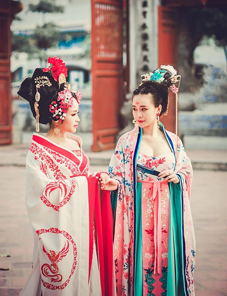 Bộ cosplay phim Võ Tắc Thiên cực chất của thiếu nữ Việt - ảnh 4