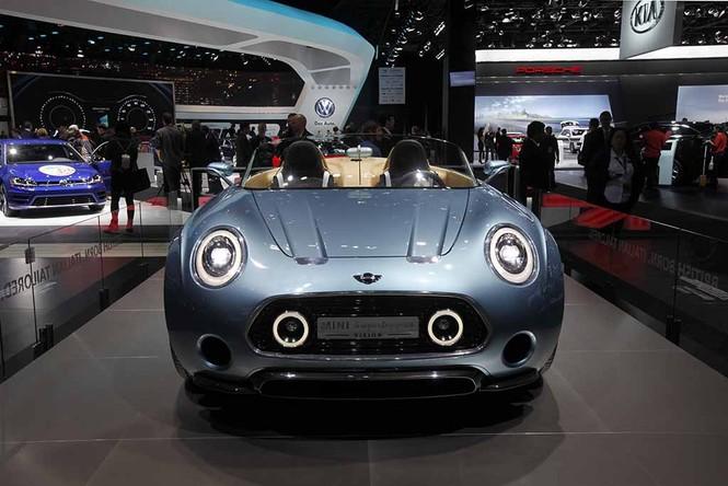 Lóa mắt với mẫu xe MINI Superleggera Vision - ảnh 1