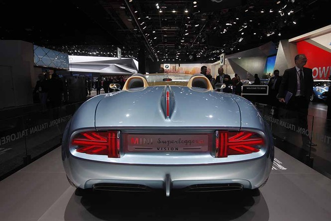 Lóa mắt với mẫu xe MINI Superleggera Vision - ảnh 7