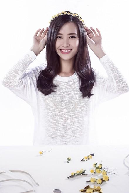 Đông Nhi hướng dẫn làm phụ kiện tóc theo xu hướng hot - ảnh 8