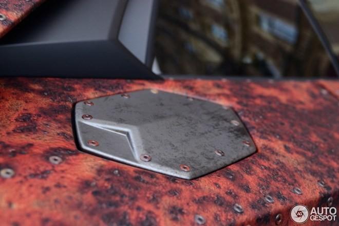 'Phù phép' siêu xe Aventador thành thiết giáp - ảnh 4