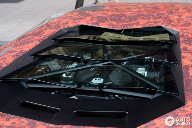'Phù phép' siêu xe Aventador thành thiết giáp - ảnh 6