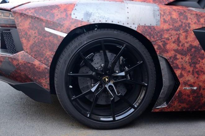 'Phù phép' siêu xe Aventador thành thiết giáp - ảnh 7