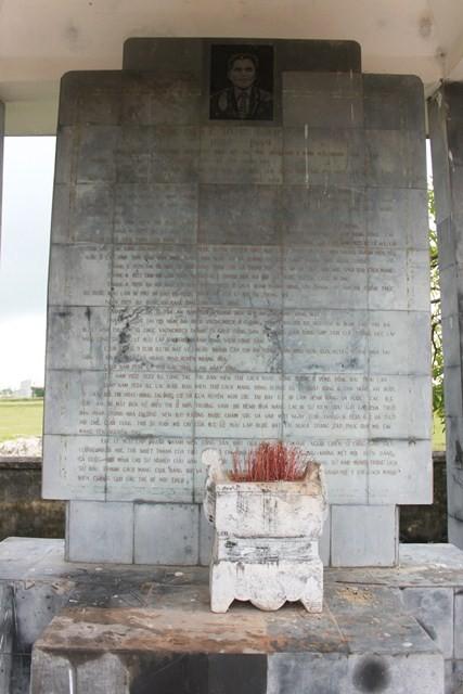 Xây dựng khu tưởng niệm đồng chí Lê Hữu Lập - ảnh 1