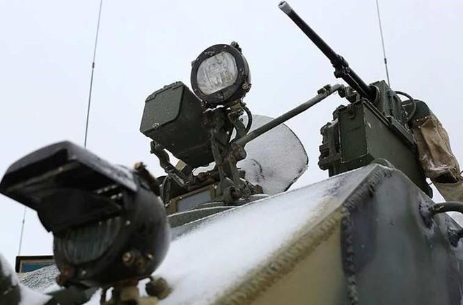 'Đột nhập' bên trong thiết giáp BTR-MD của lính dù Nga - ảnh 10