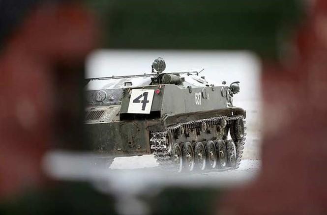 'Đột nhập' bên trong thiết giáp BTR-MD của lính dù Nga - ảnh 2