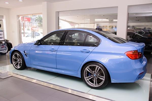 Chi tiết BMW M3 sedan 2015 màu độc tại Việt Nam - ảnh 2