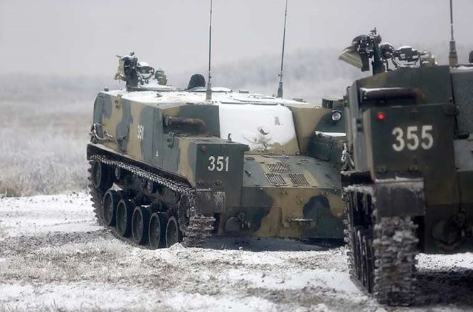 'Đột nhập' bên trong thiết giáp BTR-MD của lính dù Nga - ảnh 7