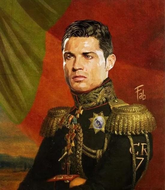 Sao Bồ Đào Nha và Pháp biến thành... tướng quân - ảnh 1