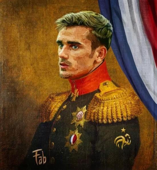 Sao Bồ Đào Nha và Pháp biến thành... tướng quân - ảnh 3
