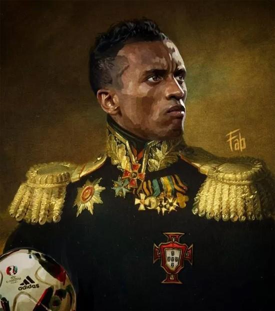 Sao Bồ Đào Nha và Pháp biến thành... tướng quân - ảnh 5